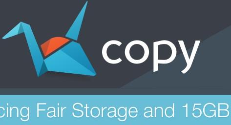 Đăng ký sử dụng miễn phí ổ cứng online khủng với Copy.com, Dropbox