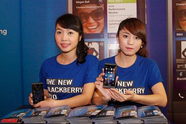 5 lý do khiến BlackBerry gặp khó khăn tại Việt Nam