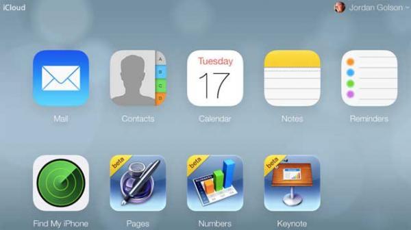 iCloud đổi giao diện theo phong cách iOS 7