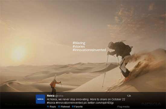 Trong sự kiện 22/10 Nokia có thể ra mắt Lumia 1520