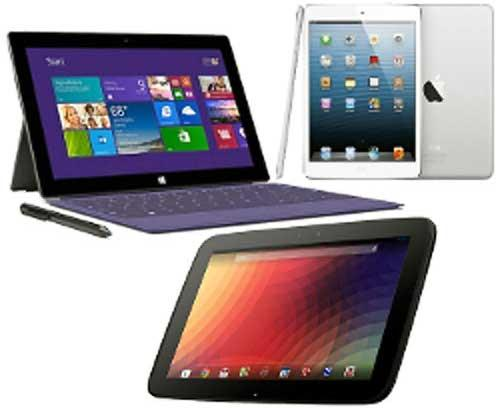 Chọn Surface Pro 2, iPad 4 hay Nexus 10?