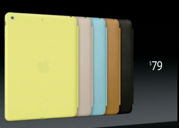 Bao da Smart Cases cho iPad Air và iPad Mini mới