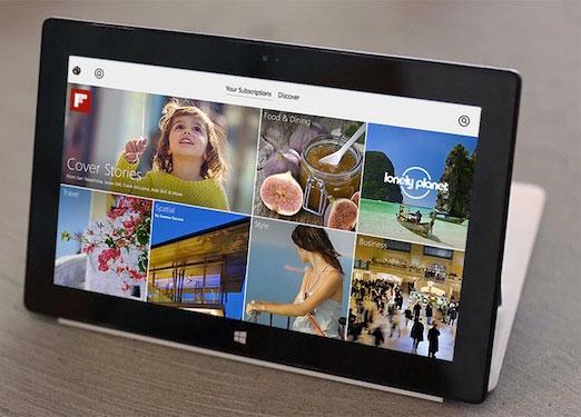 Ứng dụng đọc tin Flipboard cập bến Windows 8