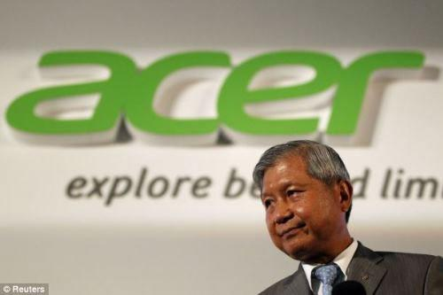 Tổng Giám đốc Acer từ chức